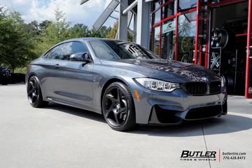 BMW M4 with 19 Niche Scope - T10 Wheels