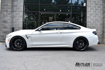 BMW M4 with 20in HRE FF04 Wheels