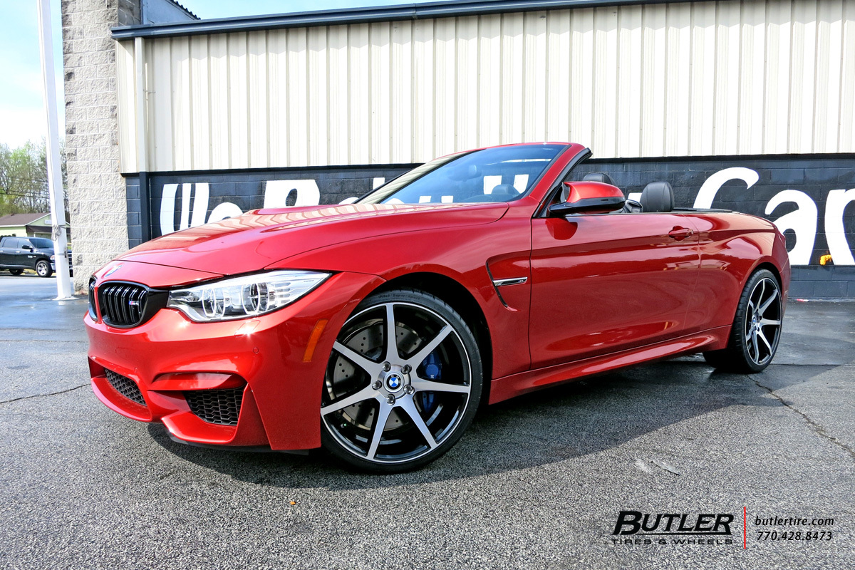 BMW M4 with 20in Savini BM10 Wheels