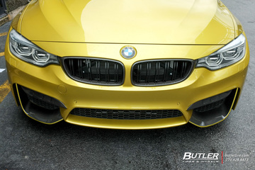 BMW M4 with 20in Savini BM12-L Wheels