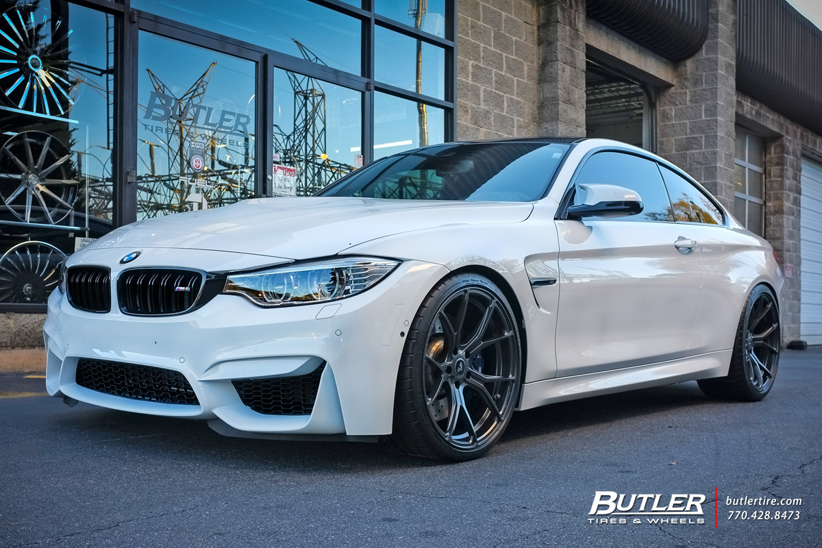 BMW M4 with 20in Vorsteiner V-FF 103 Wheels