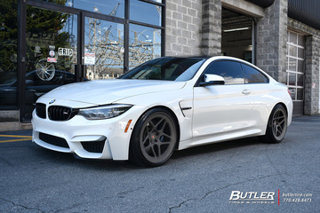 BMW M4 with 20in Vossen LC-104 Wheels