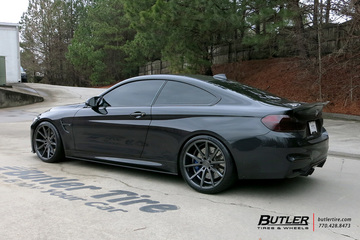 BMW M4 with 20in Vossen VFS1 Wheels