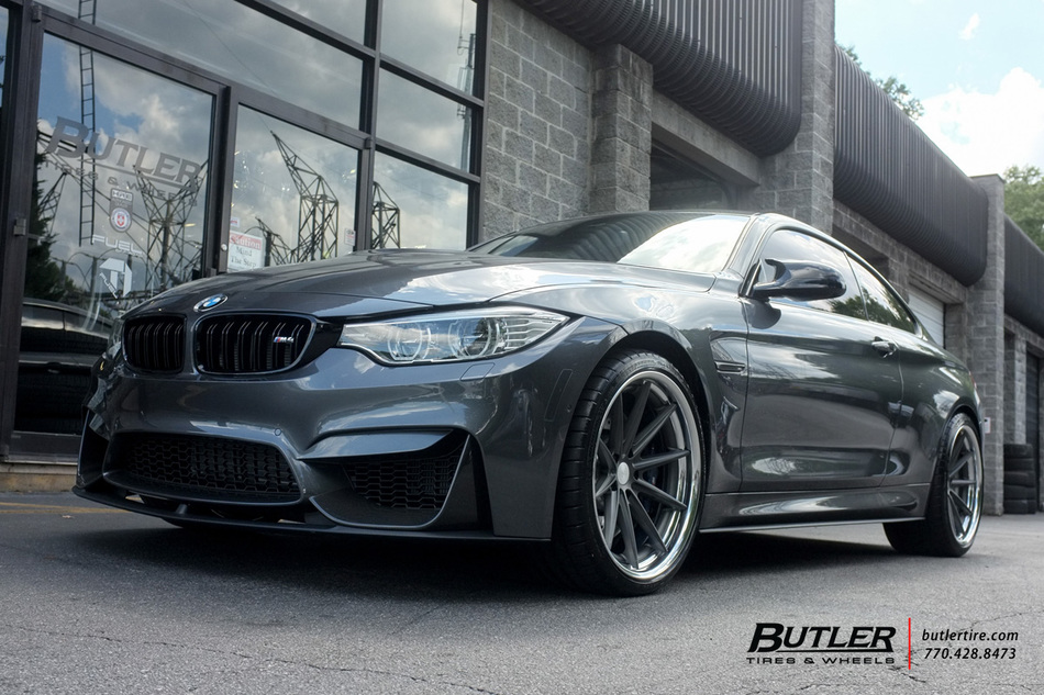 BMW M4 with 20in Vossen VWS1 Wheels exclusively from Butler Tires and Wheels in Atlanta, GA ...