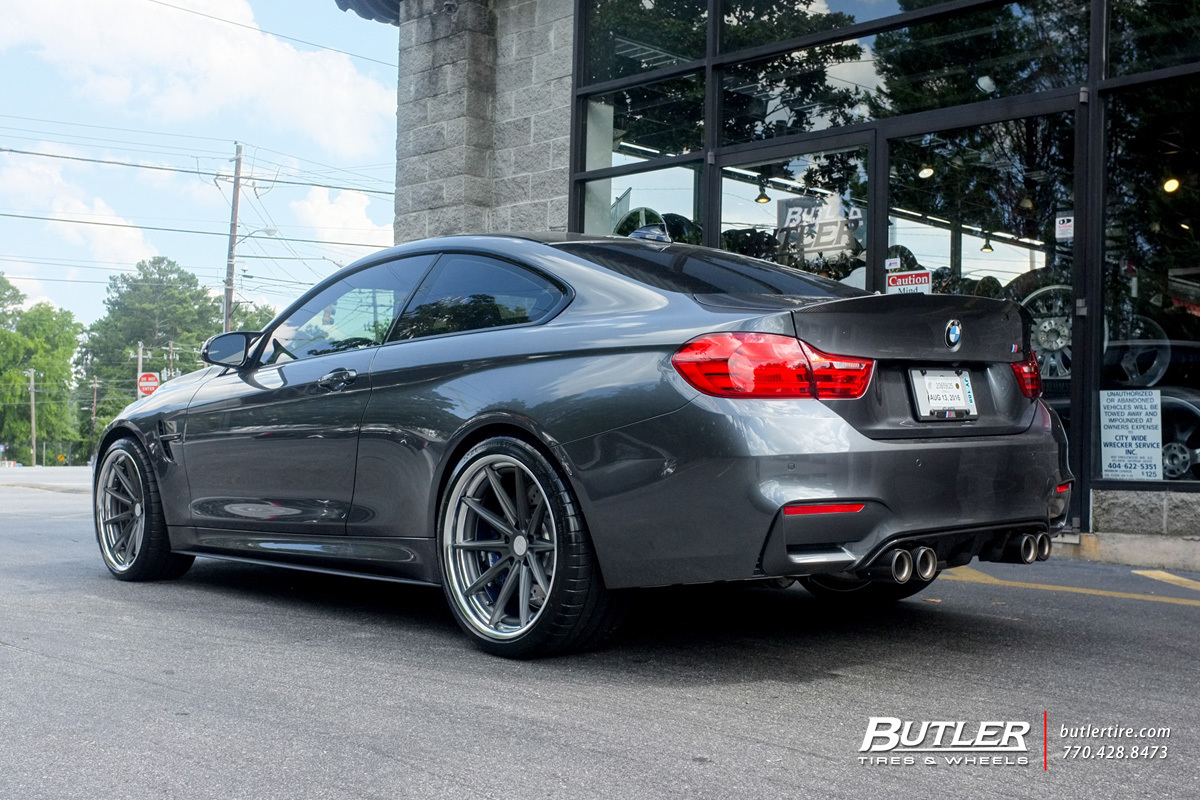 BMW M4 with 20in Vossen VWS1 Wheels