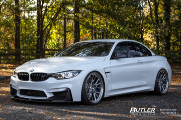 BMW M4 with 21in Vossen ML-X3 Wheels