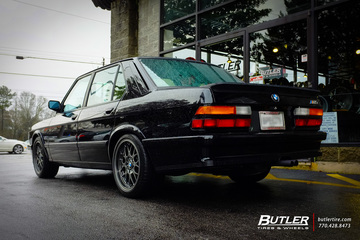 BMW M5 with 17in BBS RGR Wheels