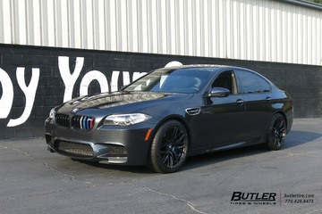 BMW M5 with 19in Vorsteiner V-FF 107 Wheels