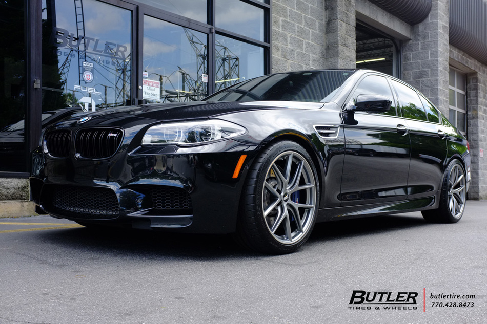Bmw M5 With 20in Bbs Ci R Wheels Exclusively From Butler Tires And Wheels In Atlanta Ga Image