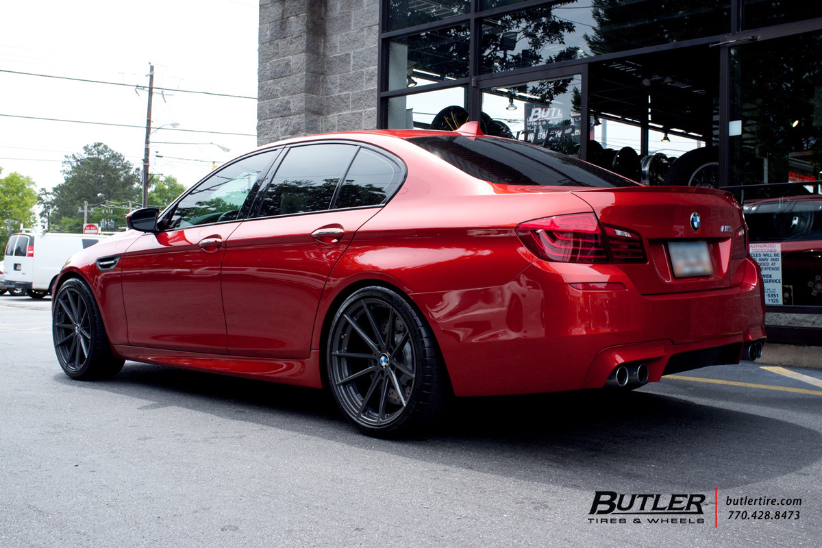 Bmw M5 With 20in Tsw Bathurst Wheels Exclusively From