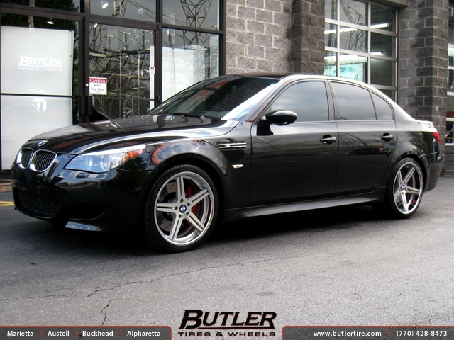 BMW M5 with 20in TSW Mirabeau Wheels exclusively from ...