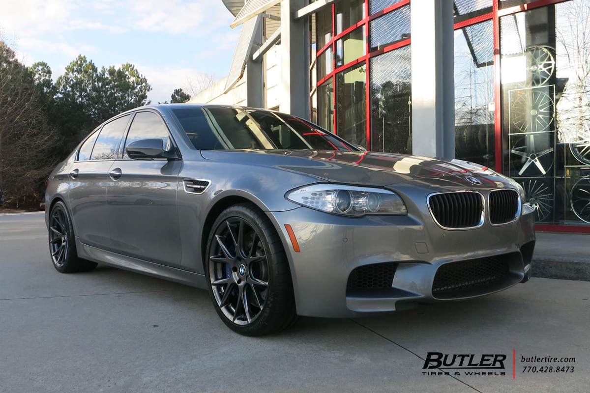 BMW M5 with 20in Vossen VFS6 Wheels exclusively from Butler Tires