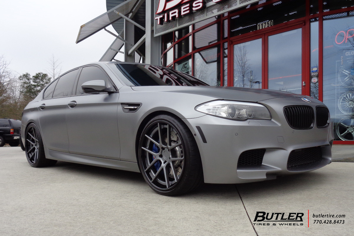 BMW M5 with 21in ADV1 5 Track Spec Wheels