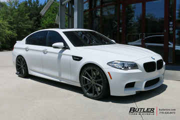 BMW M5 with 21in TSW Bathurst Wheels