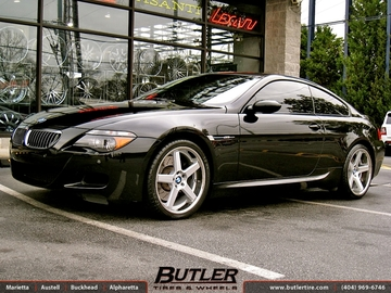 BMW M6 with 20in Niche Nurburg Wheels