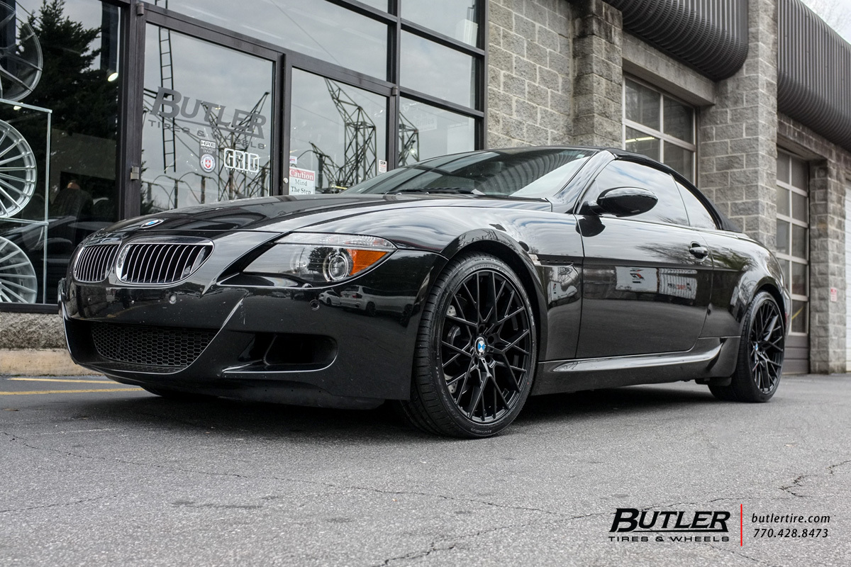 Bmw M6 With 20in Tsw Sebring Wheels Exclusively From