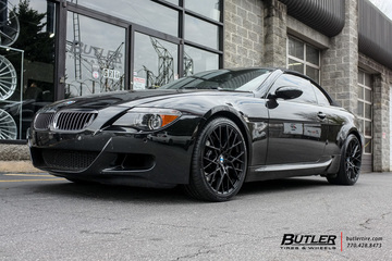 BMW M6 with 20in TSW Sebring Wheels
