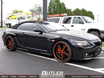 BMW M6 with 22in Beyern Wolff Wheels