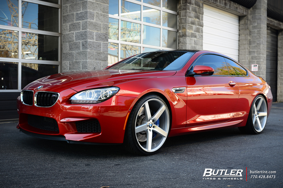 BMW M6 with 22in Niche Milan Wheels exclusively from ...