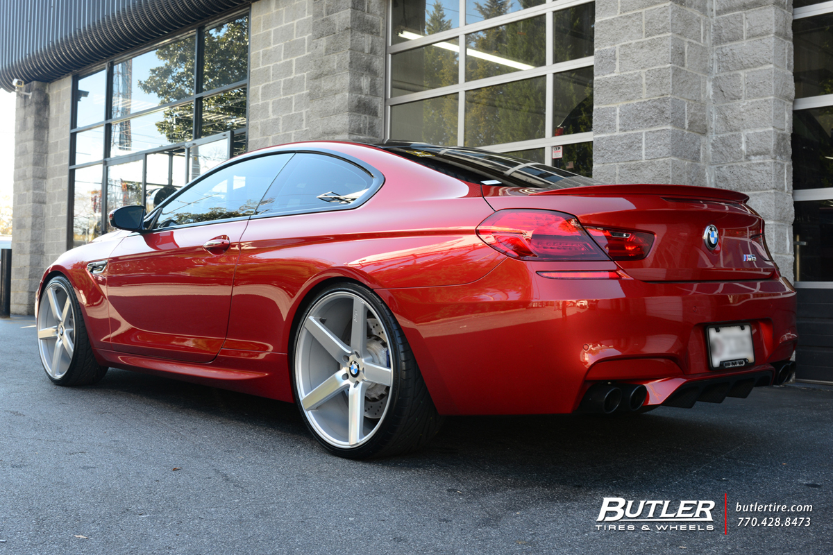 BMW M6 with 22in Niche Milan Wheels