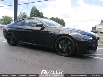 BMW M6 with 22in Savini BM8 Wheels