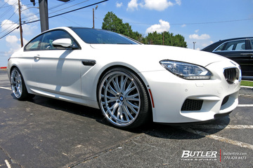 BMW M6 with 22in TSW Monaco Wheels