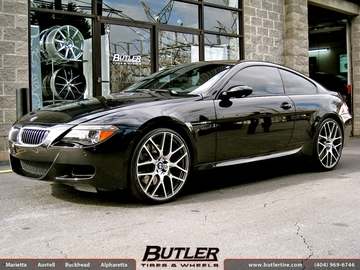 BMW M6 with 22in TSW Nurburgring Wheels