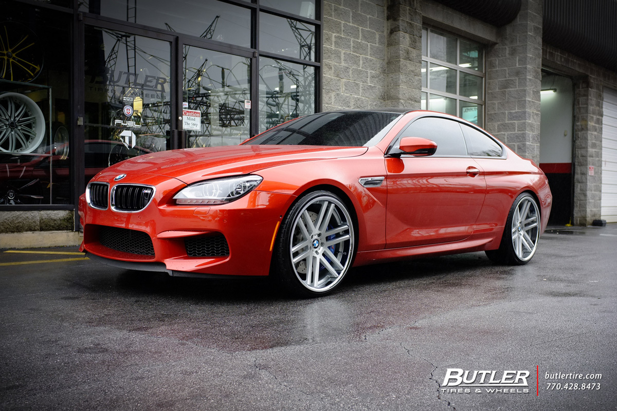 BMW M6 with 22in TSW Rouen Wheels