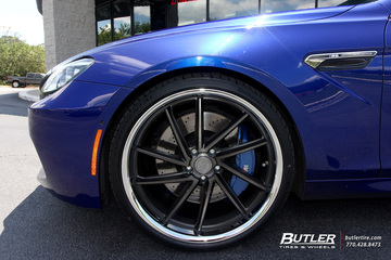 BMW M6 with 22in XO Florence Wheels