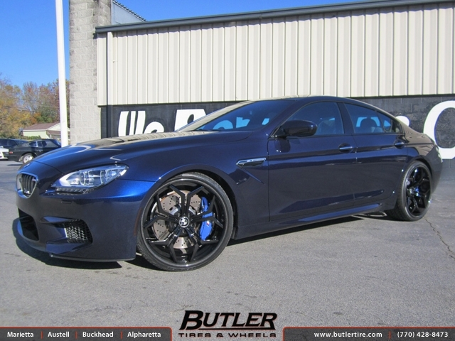 Bmw M6 Gran Coupe With 22in Vellano Vcx Wheels Exclusively