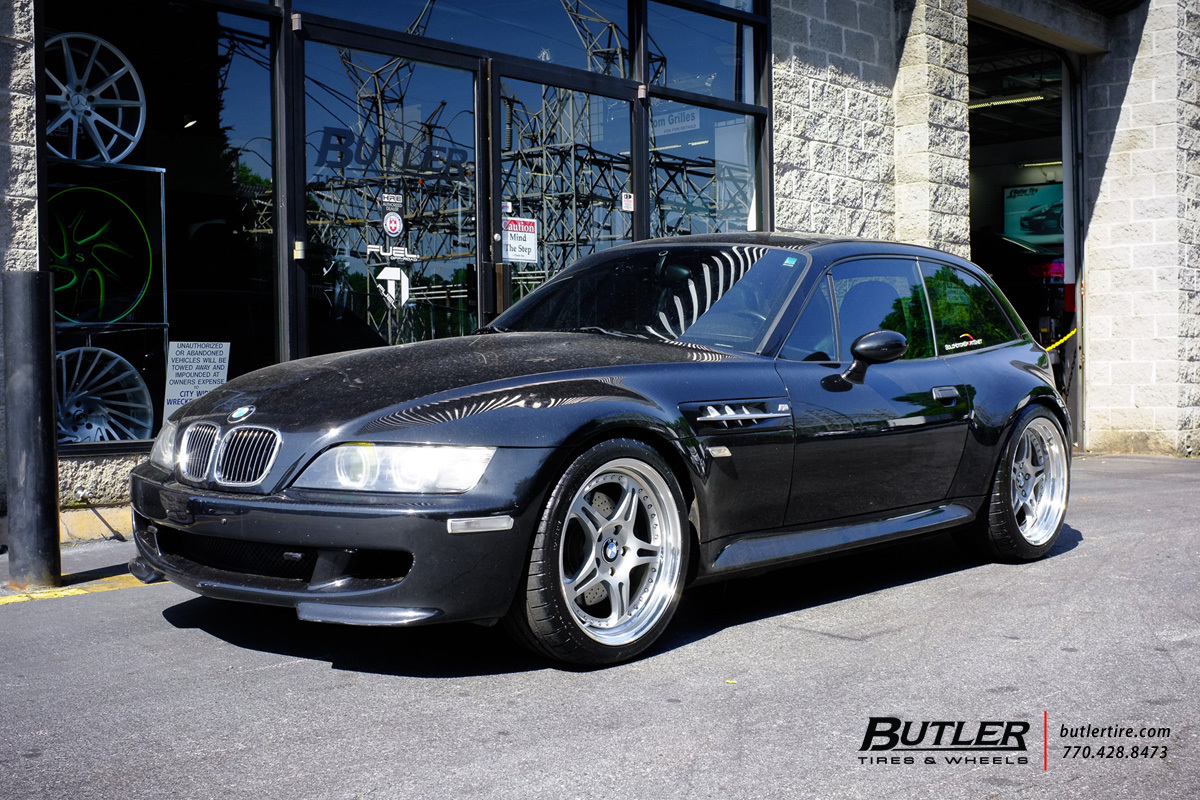 BMW M Coupe with 18in HRE 547 Wheels
