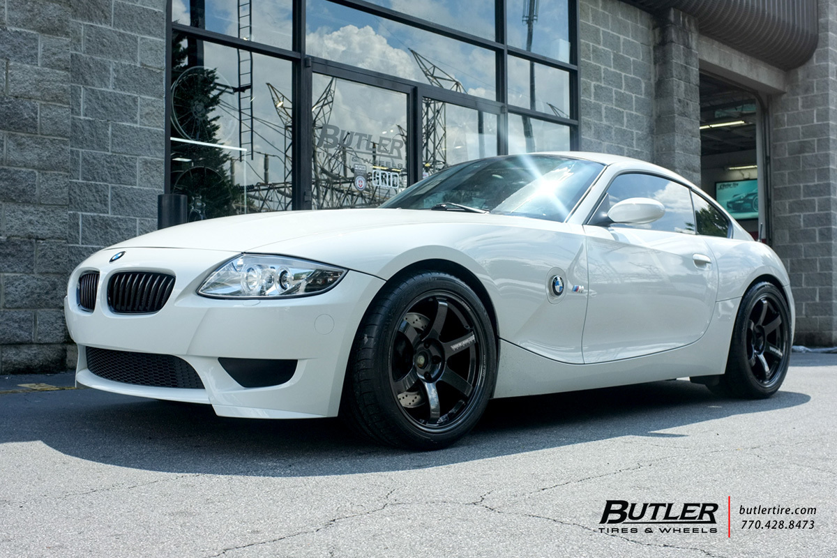 Bmw M Coupe With 18in Volk Te37 Saga Wheels Exclusively