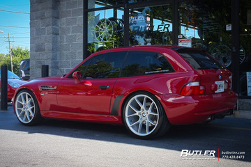 BMW M Coupe with 19in Savini BM14 Wheels