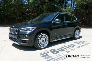 BMW X1 with 19in Rotiform LAS-R Wheels