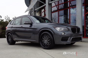BMW X1 with 20in TSW Rascasse Wheels
