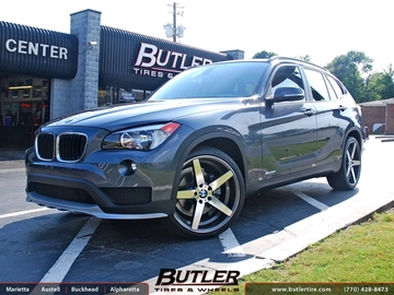 BMW X1 with 20in TSW Sochi Wheels