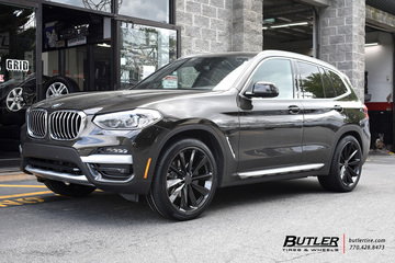 BMW X3 with 21in TSW Aileron Wheels