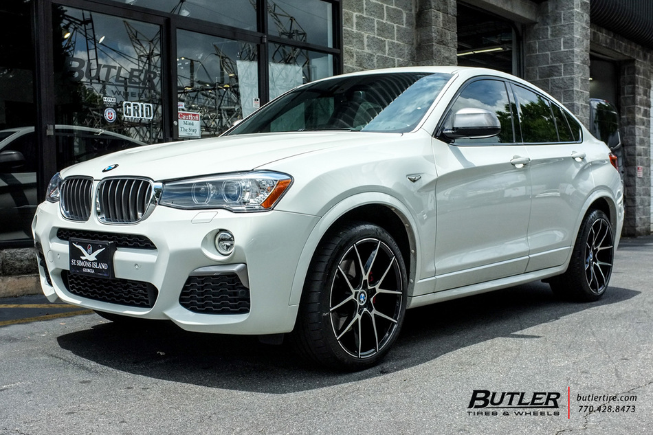 Bmw X4 With 20in Savini Bm14 Wheels Exclusively From
