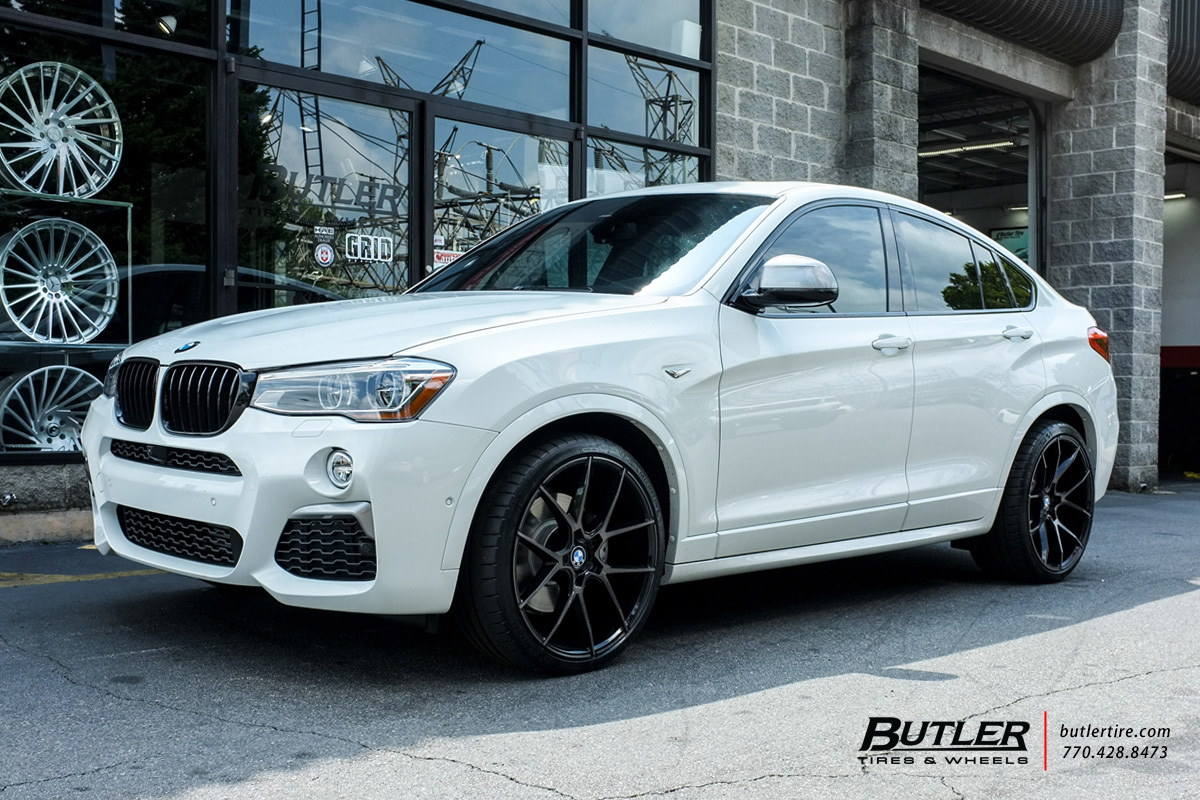 Bmw X4 With 21in Savini Bm14 Wheels Exclusively From