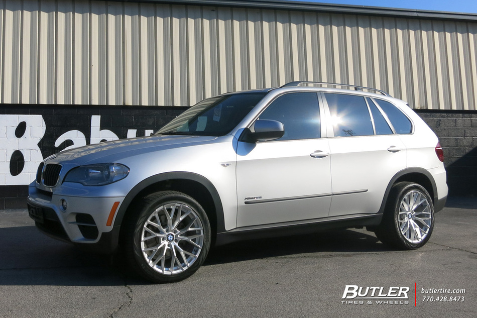 BMW X5 with 20in Beyern Antler Wheels exclusively from Butler Tires and Wheels in Atlanta, GA ...