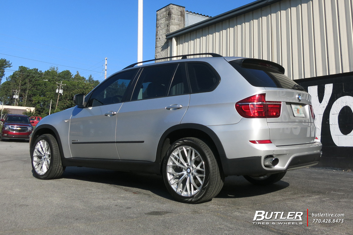 BMW X5 with 20in Beyern Antler Wheels
