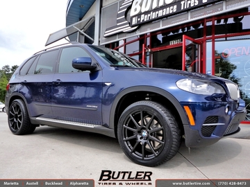 BMW X5 with 20in Beyern Bavaria Wheels