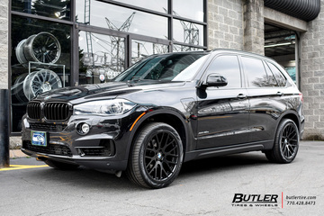 BMW X5 with 20in Beyern Spartan Wheels