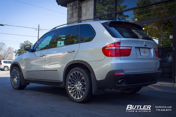 BMW X5 with 20in Lexani CSS16 Wheels