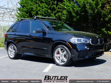 BMW X5 with 20in Niche Milan Wheels