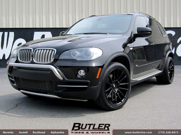 BMW X5 with 20in Savini BM9 Wheels
