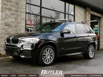BMW X5 with 20in TSW Amaroo Wheels