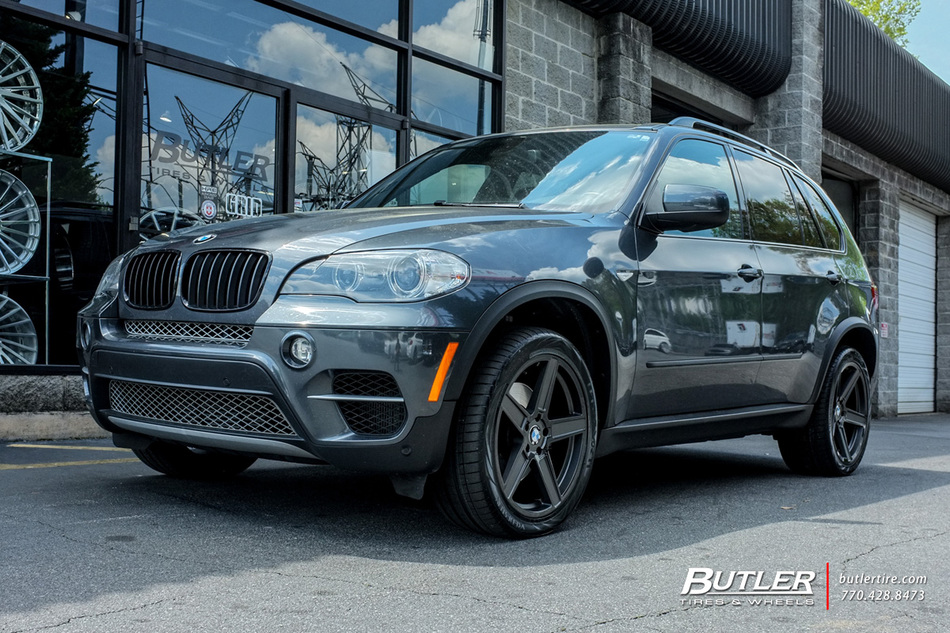 BMW X5 with 20in TSW Ascent Wheels exclusively from Butler ...