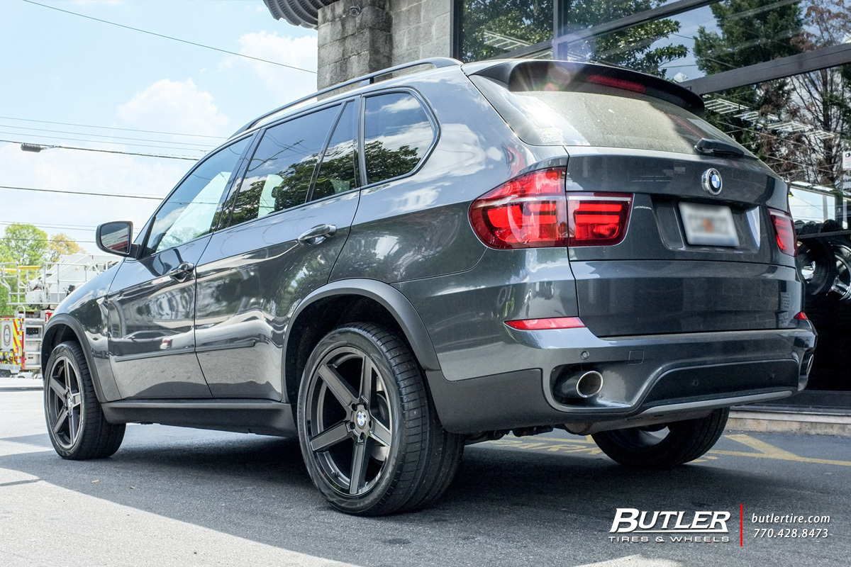BMW X5 with 20in TSW Ascent Wheels