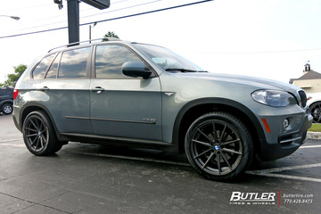 BMW X5 with 20in TSW Bathurst Wheels